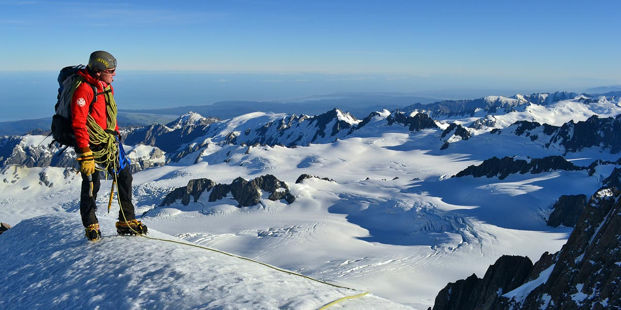 Climb New Zealand's highest peaks