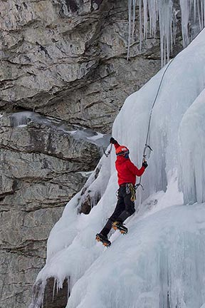 Waterfall Ice Climbing Course