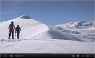 Video of Snow Shoeing
