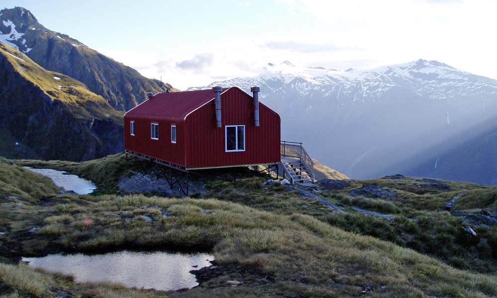 French Ridge Hut.