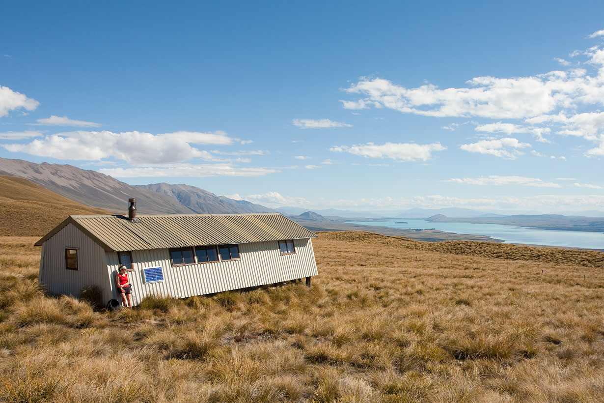 Rex Simpson Hut is fully equipped