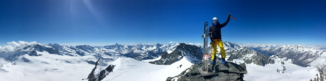 Summit of the Strahlhorn