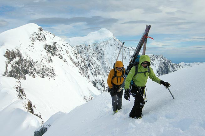 Winter Ascents, Ski Mountaineering