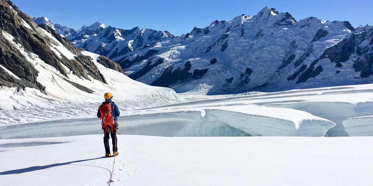 Explore the Tasman Glacier