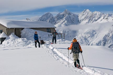 Mount Cook Snowshoe Expedition