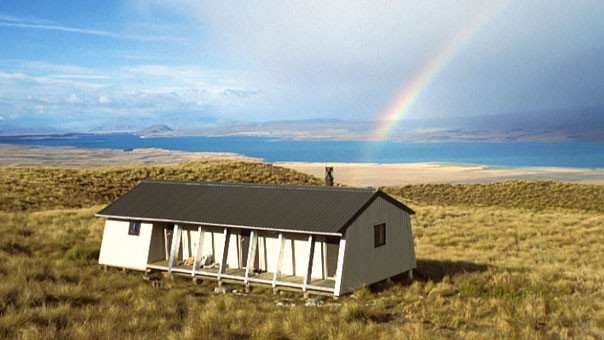Rex Simpson Hut is the ideal venue for hiking and star gazing